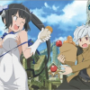 Is It Wrong to Try to Pick Up Girls in a Dungeon? Infinite Combate has two protagonists