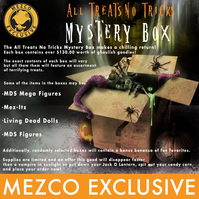 Mezco 2020 Halloween Mystery Box Game 2 Gamer